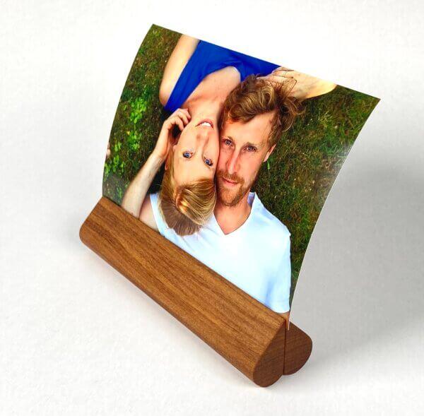 Houblokje met foto Bart en Sanne